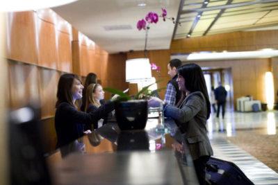 hyatt reception desk
