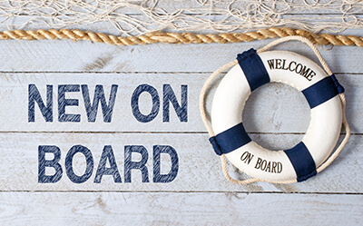 New On Board