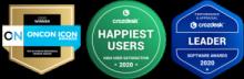 Top 25 Human Resources Vendor and Crozdesk Award Badges