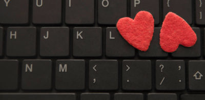 romance work heart love keyboard